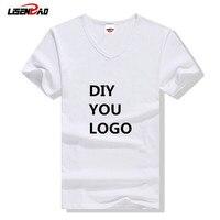 Diy بنفسك شعار الطباعة سهل الزى تطريز غرزة خياطة الرقبة القمصان ترويج خليط t-shirt شخصية logo