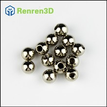 M4 9mm 12pcs/lot Stainless Steel Ball with Threaded Hole For Kossel K800 Delta 3D Printer Magnetic Joints Rod Ends