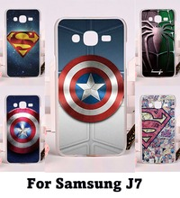 Hard Plastic and Soft TPU Cell Phone Cover For Samsung Galaxy J7 2015 J700 Cases Phone Shell High Quality Mobile Phone Cover