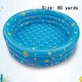 Productos Calientes del verano niño grande inflable de plástico bebé piscina Infantil océano piscina de bolas Cassia sandbox niños 80 yardas
