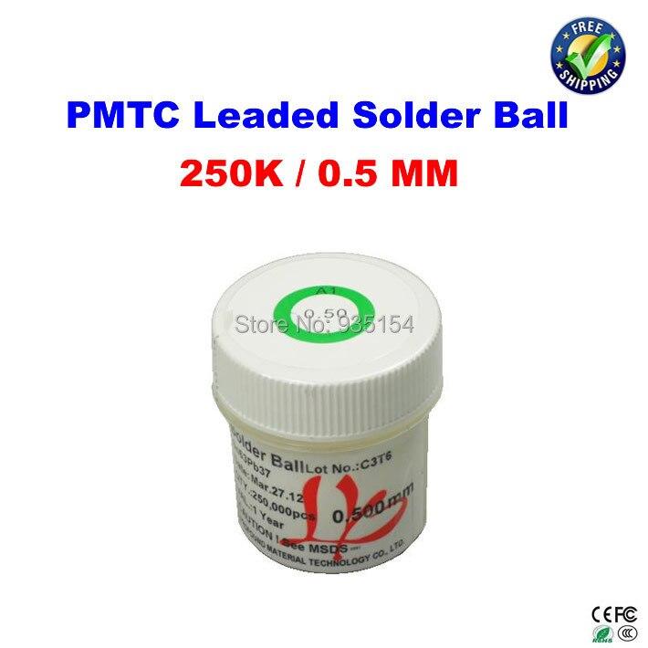 PMTC leaded solder balls 250k 0.5 mm for bga rework reballing hot sell pmtc leaded bga solder balls tin balls 0 2 0 76mm 25k 11pcs set for bga reballing rework