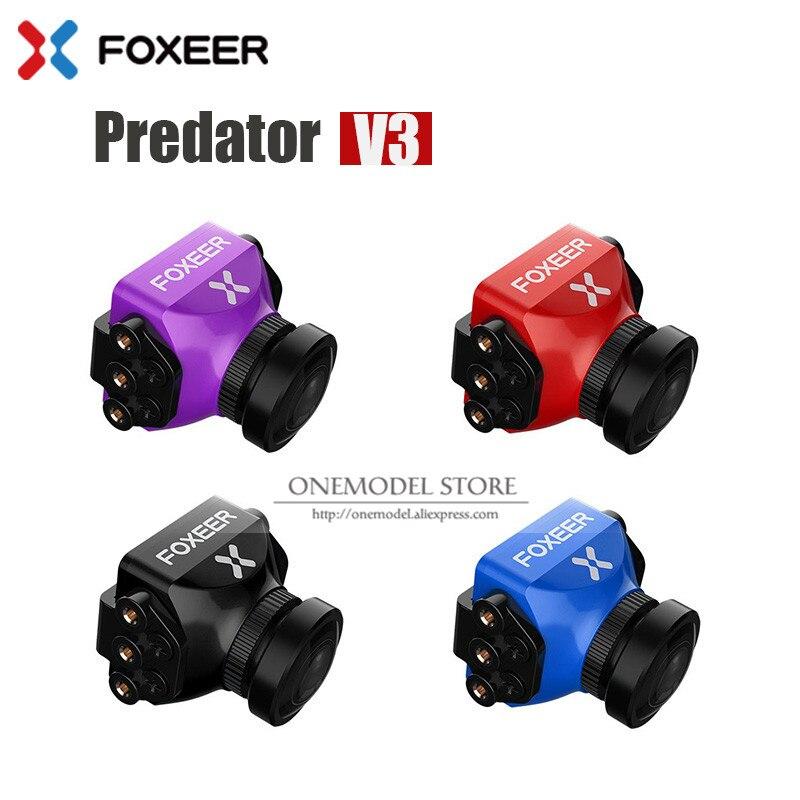 ใหม่มาถึง Foxeer Predator V3 Racing กล้องสภาพอากาศทั้งหมด 16:9/4:3 PAL/NTSC switchable Super WDR OSD 4 มิลลิเซคอน Latency รีโมทคอนโทรล-ใน ชิ้นส่วนและอุปกรณ์เสริม จาก ของเล่นและงานอดิเรก บน AliExpress - 11.11_สิบเอ็ด สิบเอ็ดวันคนโสด 1