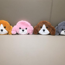 Plush Purse Dog-Coin-Bag New Dogs 12cm 4colors-Little Approx.