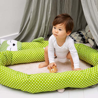 330CM Extended Baby Comfort Pillow Baby Bed Bumper Crib Bumper Lovely Zebra Fox Unicorn Bumpers Cute Cartoon Babies Cushion