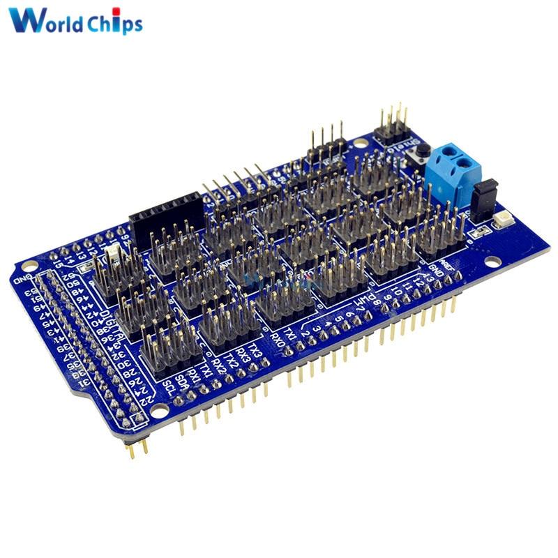 For Arduino Mega Sensor Module Shield V2.0 V2 For Arduino Module ATMEGA 2560 R3 1280 ATmega8U2 AVR