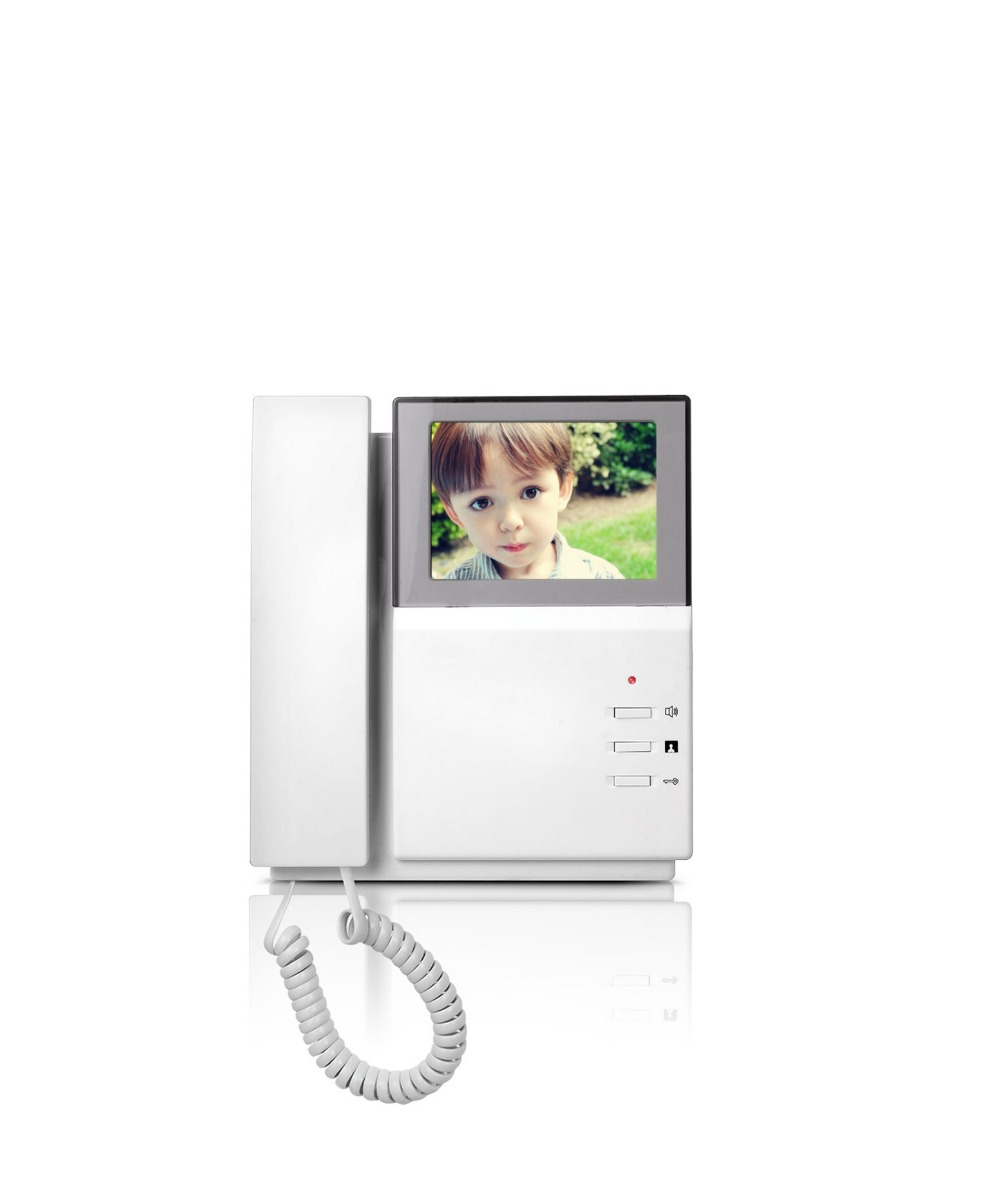 "Image 4 - YobangSecurity Home Security Video Intercom 4.3""Inch Monitor Video Doorbell Door Phone Intercom Camera Monitor System Apartment-in Video Intercom from Security & Protection"