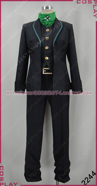 RWBY Beacon Academy Staff Professor Ozpin Uniform Suit Cosplay Costume S002
