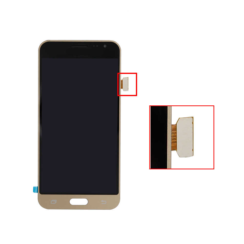 Sobusy โทรศัพท์แอลซีดีสำหรับ SAMSUNG GALAXY J3 2016 J320 J320F SM-J320F จอแสดงผล LCD Touch Screen Digitizer ASSEMBLY Tela เปลี่ยนชิ้นส่วน