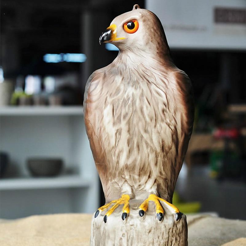 Kerti díszítő figura, a Lifelike hawk decoy megrémíti a madarak - Kerti termékek