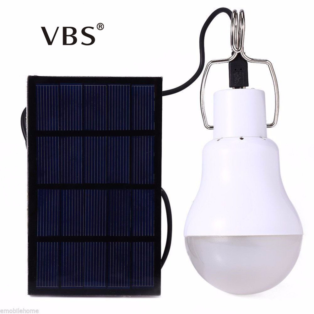 Solar Lights 1.5w Garden Solar Light Bulb Led Solar Light Outdoor Waterproof IP44 For Emergency lighting