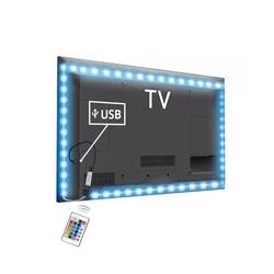 USB بالطاقة DC 5 V LED قطاع ضوء 2835 RGB/أبيض/أبيض دافئ للماء الشريط LED مصباح 1 M 2 M 3 M 4 M 5 M التلفزيون إضاءة خلفية