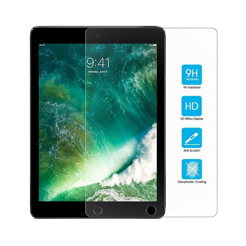 For iPad 2 HD Full Cover Tempered Glass For Apple iPad 2 3 4 9.7