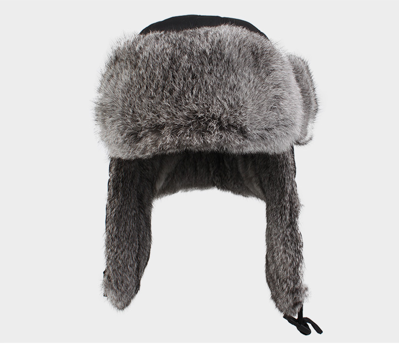 Russian style ear flap hats are also known as Ushanka hats or Trooper Hats. A Ushanka is a fur hat with ear flaps that can be tied up to the crown or back of the hat, or tied at the chin to protect the ears .