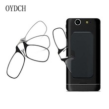 Legless clip nose reading glasses portable men s and women s universa  reading glasses mini glasses sticky mobile ac41d0ffb6