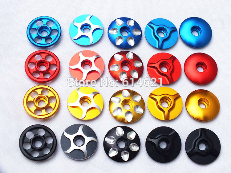 """1 1//8 /""""MTB Bicycle Seat Cover Bicycle Headset Headset CNC Headset Top Cover"""