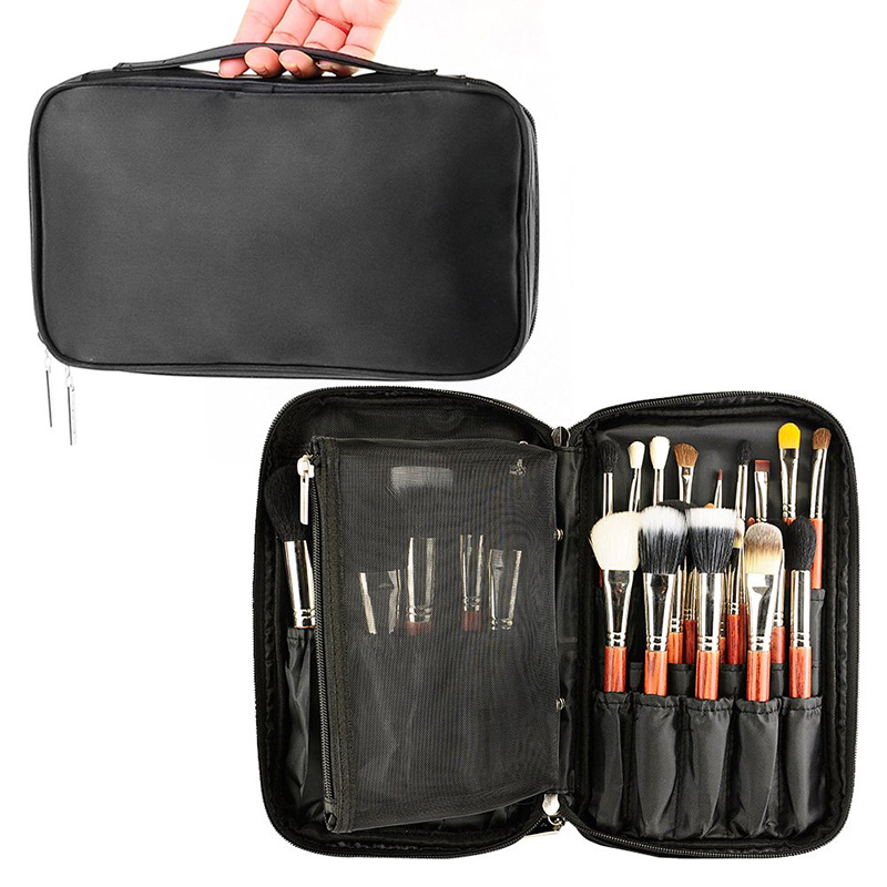 Professional Cosmetic Bag Beauty Case Toiletry Brush Organizer Neceser Multi Functional Makeup Bag For Travel & Home