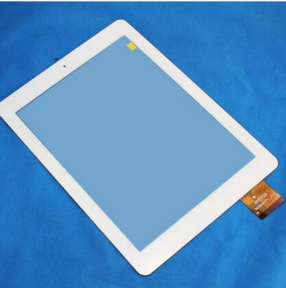 New touch screen digitizer glass touch panel Sensor Replacement for 9.7 SPC GLOW 9.7 QUAD CORE  tablet Free Shipping new for 10 1 inch bq edison 1 2 3 quad core tablet touch screen digitizer touch panel glass sensor replacement free shipping