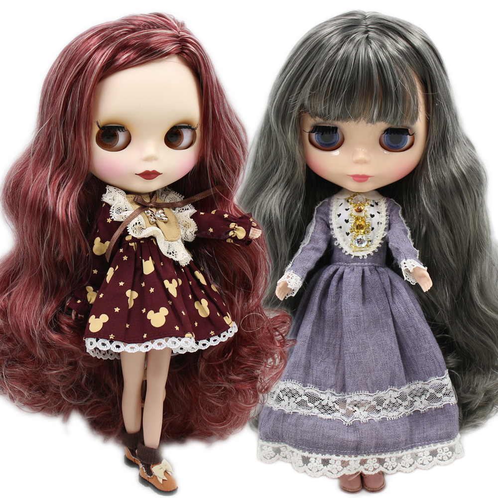 ICY Nude Factory Blyth Doll Special Offer Normal Non-joint Body Hair 1/6 BJD