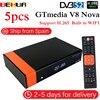 5 יח'\חבילה Gtmedia V8 נובה זהה משלוח ישב V9 סופר DVB S2 לווין מקלט מובנה wifi תמיכה H.265 AVS זהה V8 סופר-במקלט שידורי לוויין מתוך מוצרי אלקטרוניקה לצרכנים באתר
