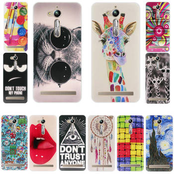 Luxury Cartoon TPU Phone Case Back Cover For Asus ZenFone Go ZB500KL ZB500KG X00AD X00ADC X00ADA Case 5.0 inch Silicone Cover