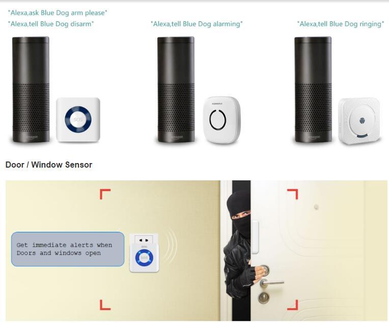 Säkerhetskamera Hemalarm System Trådlöst WiFi DIY Kit - Säkerhet och skydd - Foto 4