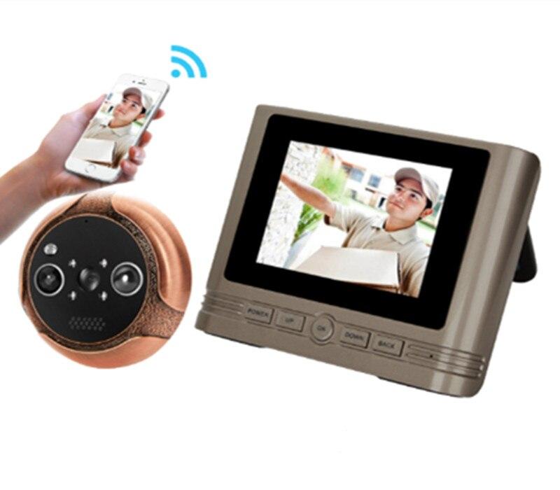 3.2 Inch APP Remote Control WIFI Doorbell Motion Detection Peephole Viewer 3.2 Inch APP Remote Control WIFI Doorbell Motion Detection Peephole Viewer