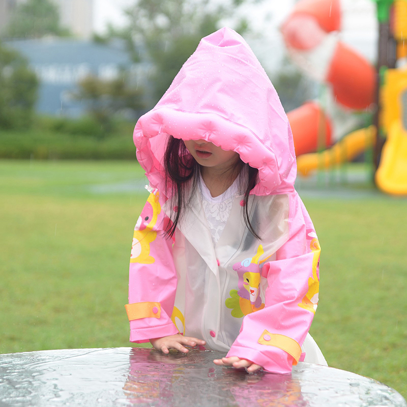 Rain Coat Kids Women Waterproof Girl Children Waterproof Suitcapa De Chuva Infantil Poncho Protection Kids Raincoat Sets QQG422