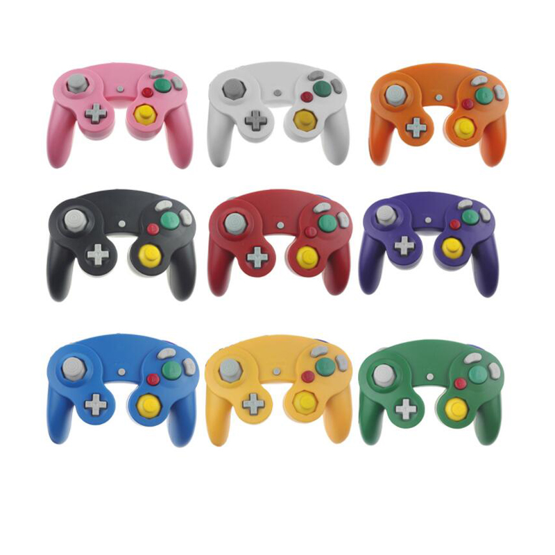 For Gamecube For NGC Controller GC Port PC USB Wired Gamepad Joypad Joystick For Nintendo For MAC Computer-in Gamepads from Consumer Electronics