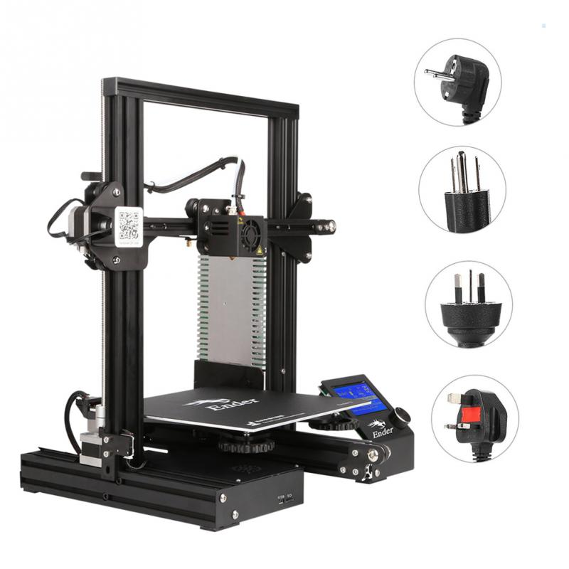Professional 3D Printer Kit High Precision Online Offline 180mms Fast Printing Platform