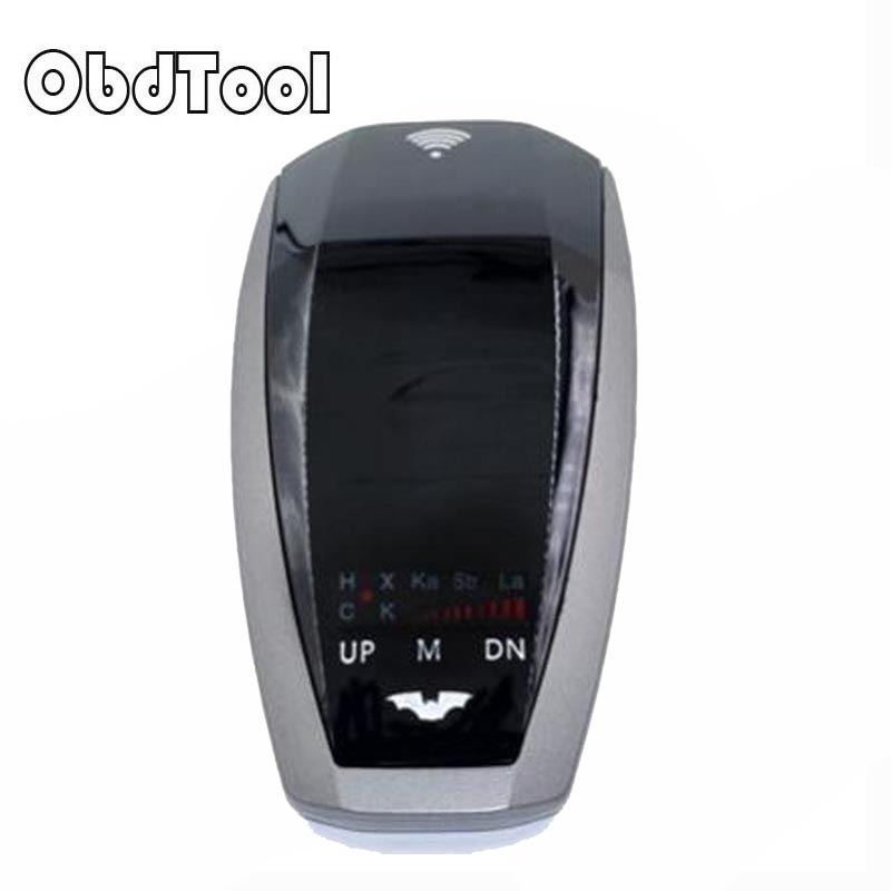 OBDTOOL Car Trucker Speed V10 Radar Detector Voice Alert Warning 16-band Scanning Auto 360 Degrees for Universal Car Brand