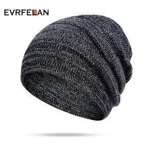 79c7432e496ef Evrfelan Women Men Beanies Autumn Winter Knitted Hat Cap