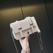 2019 Woman Package Concise Joker Candy Color Student Package Chain Oblique Satchel bag handbag ladies hand bags