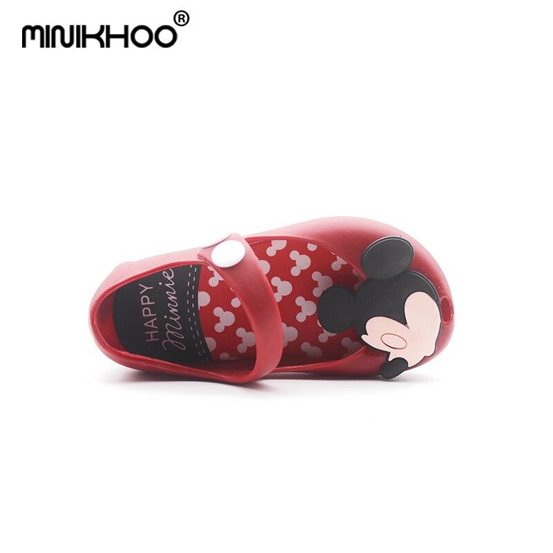 Mini Melissa 2017 Mickey Minnie Dziewczyny Sandały Galaretki Buty - Obuwie dziecięce - Zdjęcie 5