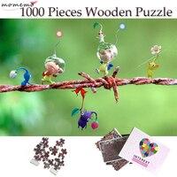 MOMEMO Einfache Muster Holz Jigsaw Puzzle 1000 Stück Holz Puzzle für Erwachsene Kinder Spielzeug Hause Dekoration Collectiable Geschenk