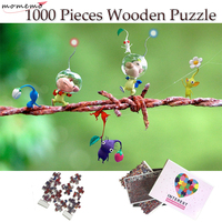 MOMEMO Simple Pattern Wooden Jigsaw Puzzle 1000 Pieces Wooden Puzzle for Adults Children Toys Home Decoration Collectiable Gift