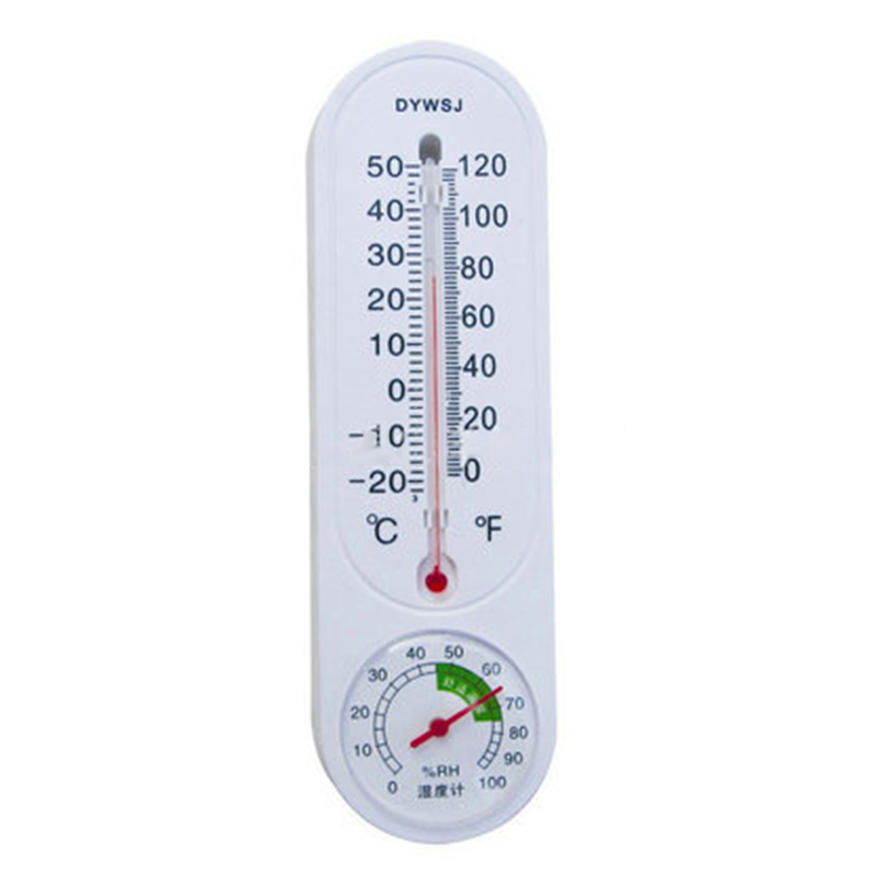Garden & Patio Garden Ornaments Greenhouse Analog Thermometer Hygrometer Wall-mounted Temperature Humidity Meter