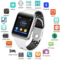 phone screen LIGE New Smart Watch Men Women Sport Pedometer LED Color Screen Bluetooth Connection Mobile Phone synchronization Support TF SIM (1)