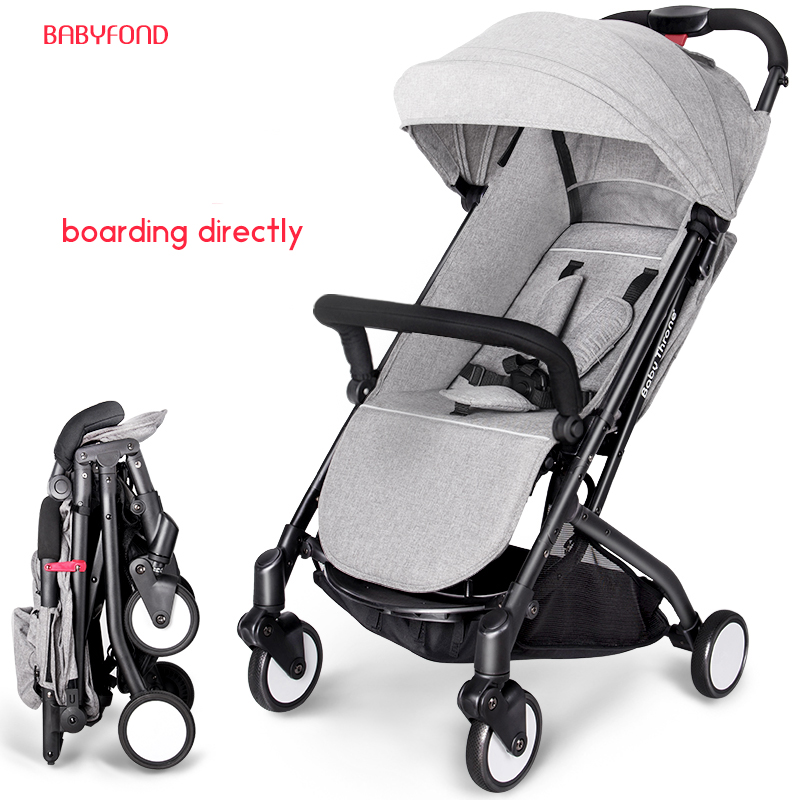 Babythrone Baby Stroller Portable bb car Can Sit And Lie Down Folding Car 8 Colors 7 Free Gifts send leg cover newborn travel baby stroller ultra light portable shock absorbers bb child summer baby hadnd car umbrella