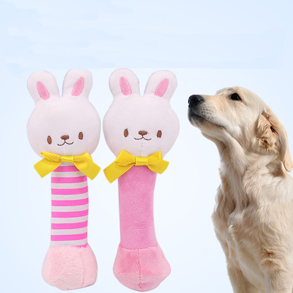 Home & Garden Collection Here Lovely Animal Plush Toys For Dogs Playing Fetching Pet Puppy Chew Squeaker Funny Interactive Dog Squeaky Toys Honden Speelgoed Dog Toys