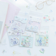 40pcs/lot Lovely Romantic Dream Series Label Sealing Stickers Diary Adhesive Scrapbooking Decorative DIY Stickers Stationery цена