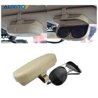 1pc Car Sunglasses Holder Glasses Case Storage Box For BMW VW Audi Benz Honda Mazda Hyundai