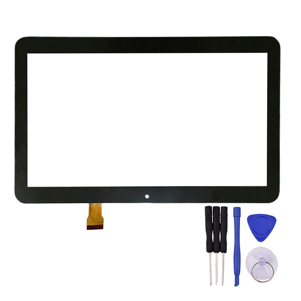 10.1 inch Black Touch Screen GT10PGX10 for Tablet PC  Digitizer Glass Sensor Replacement with Repair Tools 10 1inch capacitive touch screen digitizer gass for ginzzu gt x831 tablet pc mid repair gt x831 gt x831 touch screen