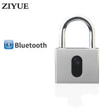 Free Shipping Anti-theft Keyless Mobile Phone APP Unlock Waterproof Smart Bluetooth Pad Lock,