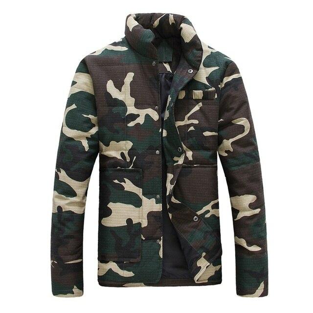 Группа-покупка!!! новый бренд мужские зимние пальто камуфляж мужчины куртка куртка пальто мужчины большой размер плюс размер № 149 P145