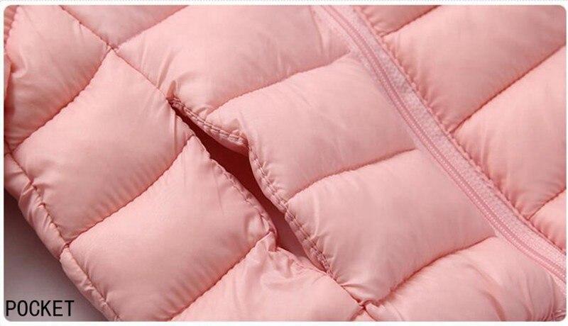 COOTELILI Cute Bear Children's Parkas Winter Jacket For Girls Boys Infant Overcoat Winter Children Coats Warm Kids Jacket Baby  (14)