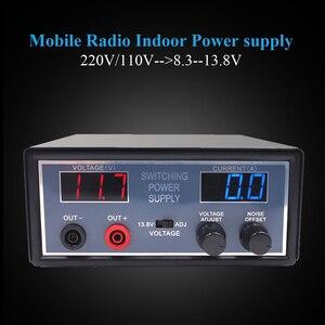 Image 2 - Anysecu высокая эффективность DC 110В/220В конвертер PS30SW VI 13,8 V 30A для мобильного радио TH 9800 KT 8900
