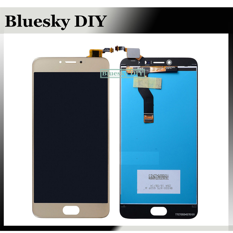 For Meizu M3 Note L681H Black/White/Gold Full LCD Display Panel Touch Screen Digitizer Glass Lens Assembly Replacement +TOOLS
