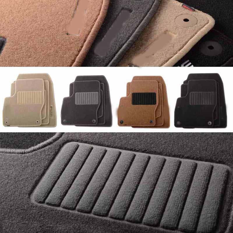 6pcs Премиум Авто мата Нейлон - Автокөліктің ішкі керек-жарақтары - фото 4