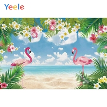 Yeele Baby Shower Backdrop Seascape Cranes Summer Photography Backdrops Personalized Photographic Backgrounds For Photo Studio