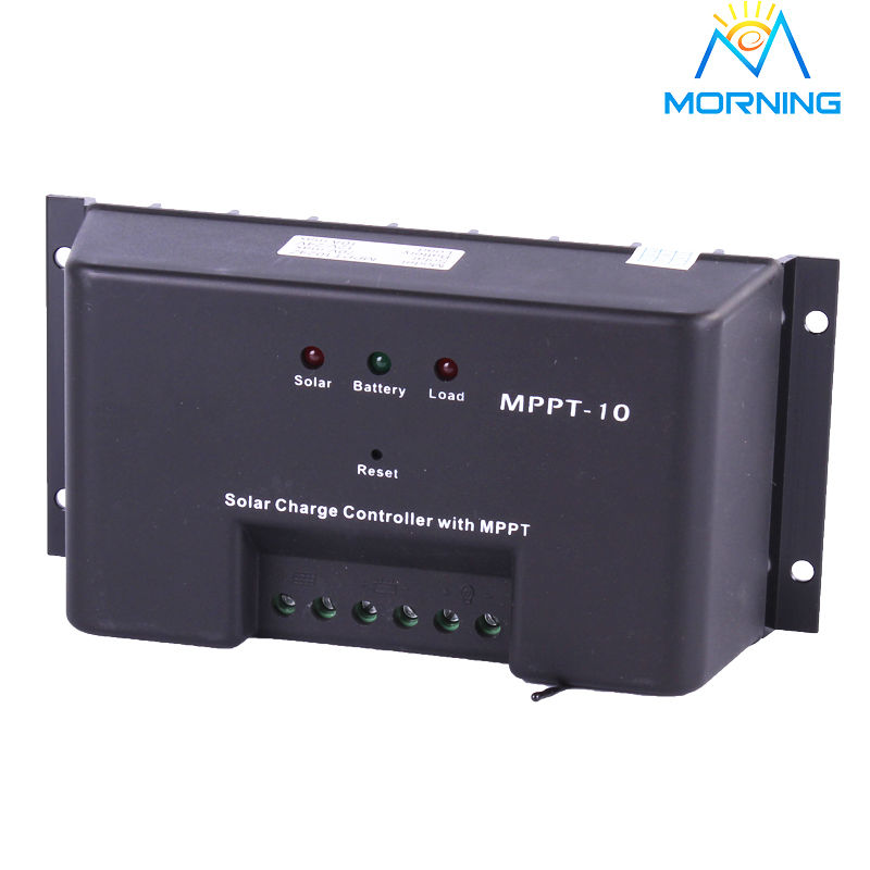 ФОТО 12/24V auto  10A mppt solar charge controller